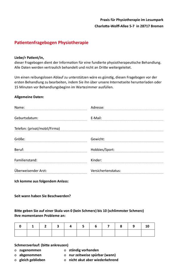 Patientenfragebogen herunterladen